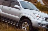 Аренда авто Toyota Land Cruiser Prado с водителем, бу